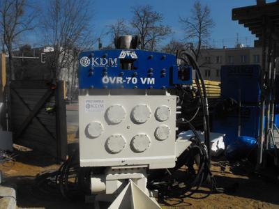 Używany Wibromłot OVR 70VM na koparkę