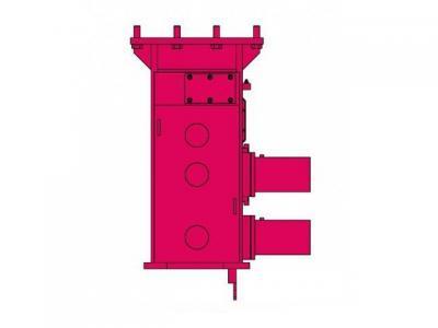 Używany zacisk do pali pełnych PVE 120T40
