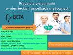 Praca dla pielęgniarki w niemieckich ośrodkach medycznych.